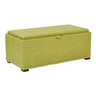 Florence Upholstered Storage Bench by Ave Six