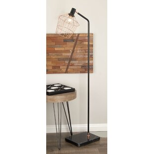 Black Wrought Iron Floor Lamp | Wayfair