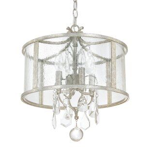 Willa Arlo Interiors Destrey 4-Light Drum Chandelier