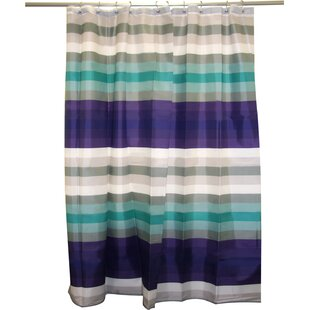Cheer Stripe Single Shower Curtain