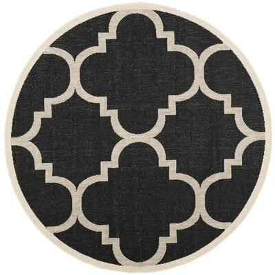Black Amp White Round Area Rugs You Ll Love In 2019 Wayfair