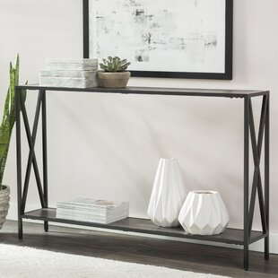 Abbottsmoor Metal Frame Console Table By Andover Mills