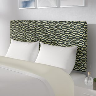 Trend Pakswith Upholstered Panel Headboard by Ebern Designs