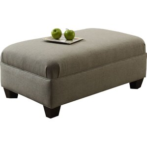 Simmons Upholstery Duvall Springs Cocktail Ottoman by Red Barrel Studio