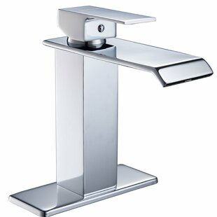 Aquafaucet DFI Waterfall Lavatory Sink Single Hole Bathroom Faucet Image