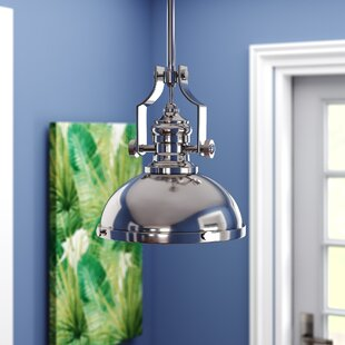 Annetta 1-Light Dome Pendant by 17 Stories