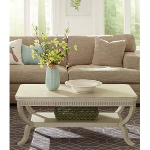 Tala Rectangular Coffee Table by Beachcrest Home