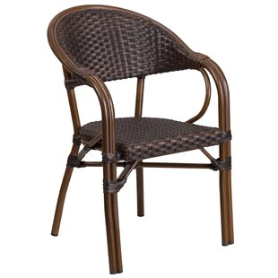 Shelie Rattan Restaurant Patio Chair