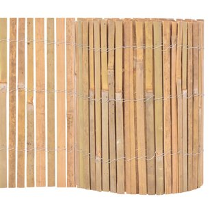 Esquina Bamboo Garden Fence (5m X 0.3m) By Bay Isle Home
