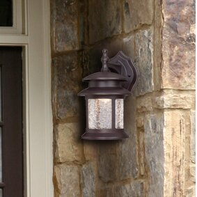 Meadows 3-Light Outdoor Wall Lantern by Charlton Home