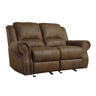 Shop Haslingden Reclining Loveseat by Darby Home Co