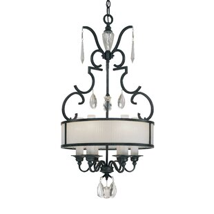 Castellina 6-Light Pendant by Metropolitan by Minka