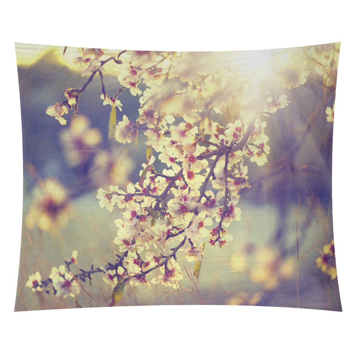 World Menagerie Bourbeau Cherry Blossoms Tapestry Wayfair