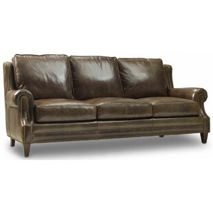Shop Houck Leather Sofa by Bradington-Young