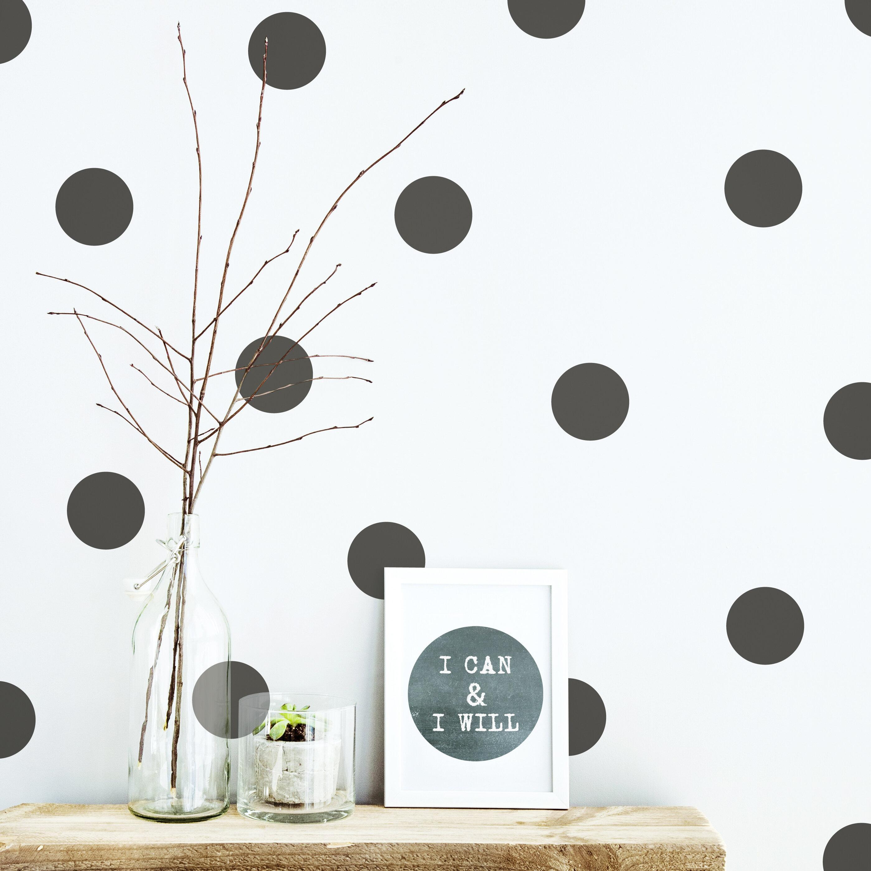 Isabelle Max Polka Dot Wall Decal Wayfair