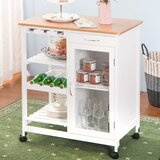 Sherman Kitchen Cart by August Grove®