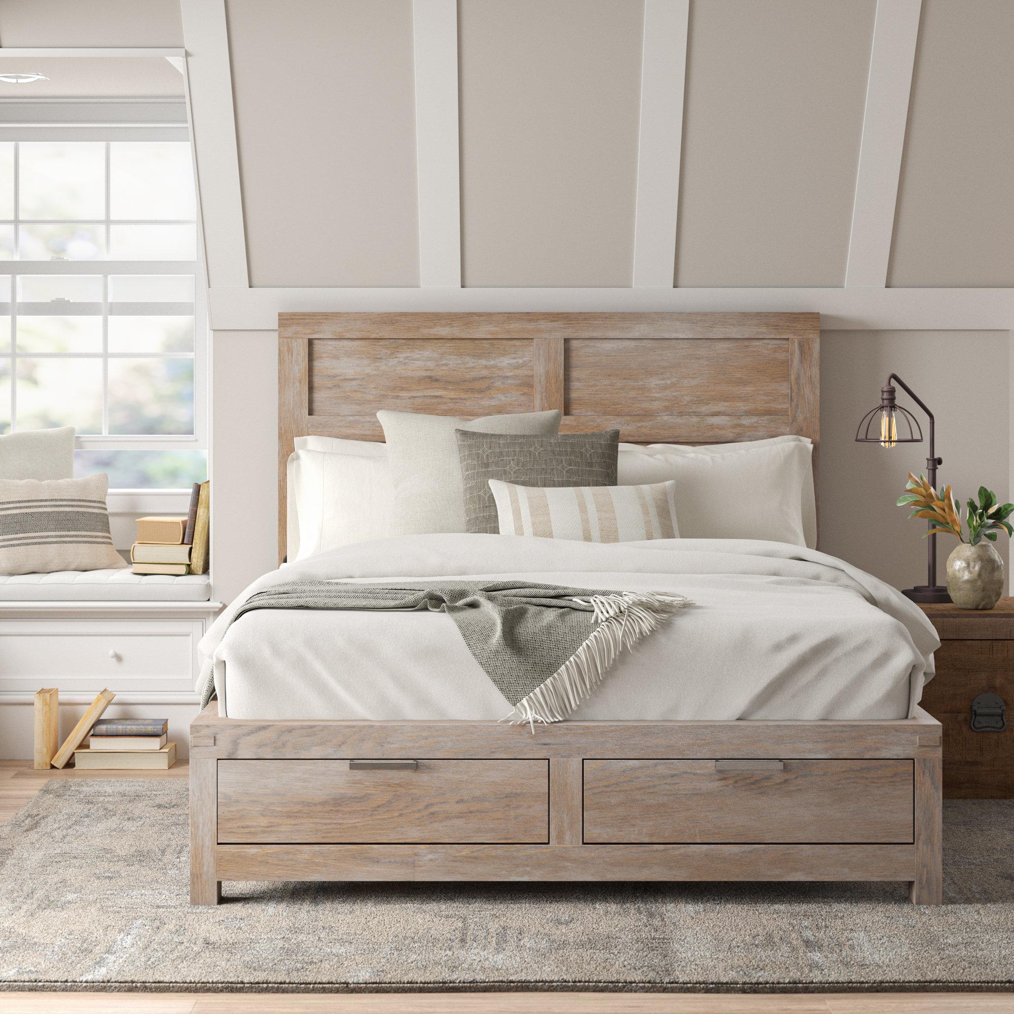 Picture of: Sandford Storage Platform Bed Reviews Birch Lane
