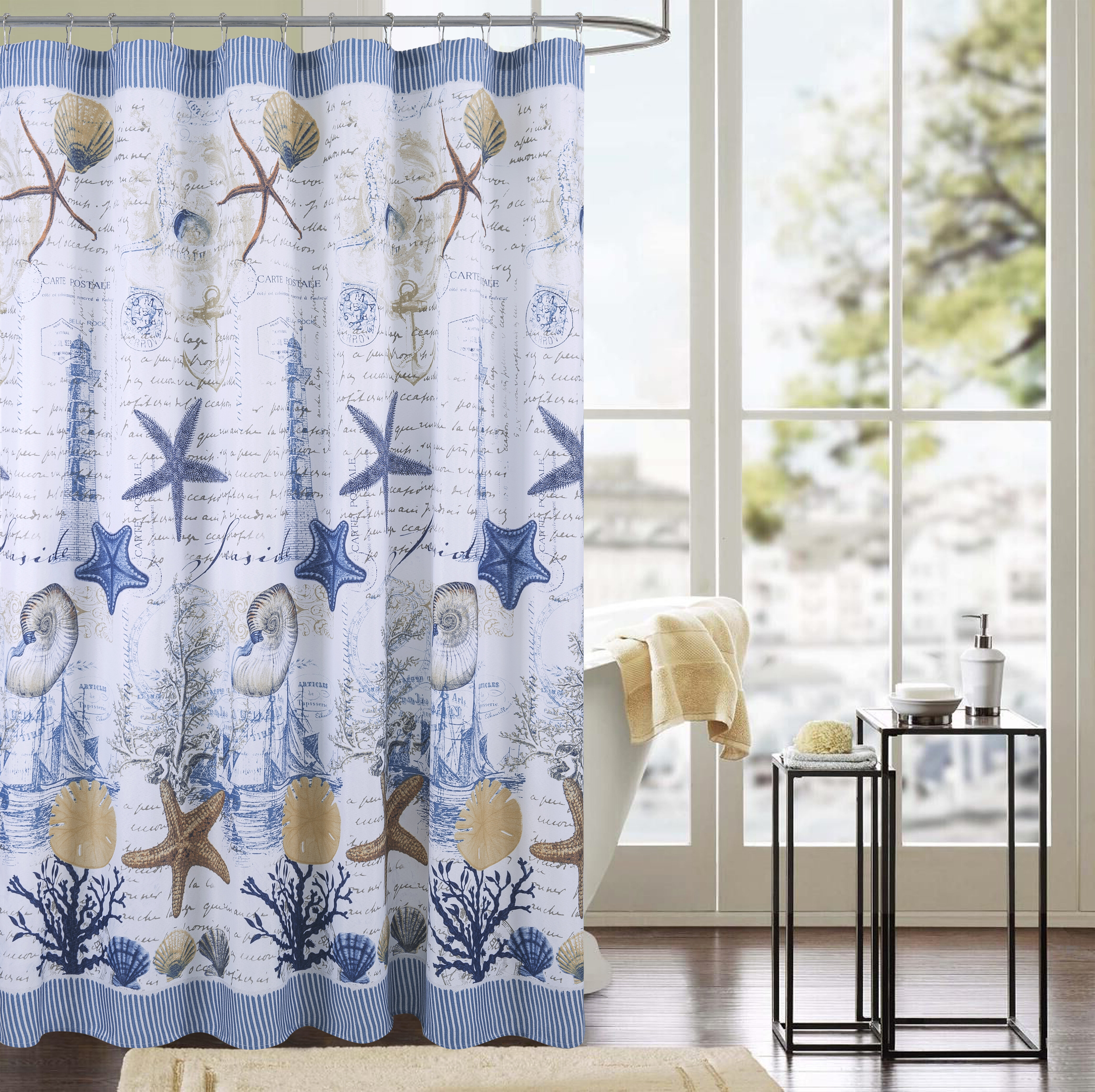 Fabric Shower Curtain Sets | Wayfair