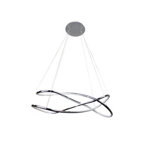 Tillotson Circular LED Geometric Chandelier