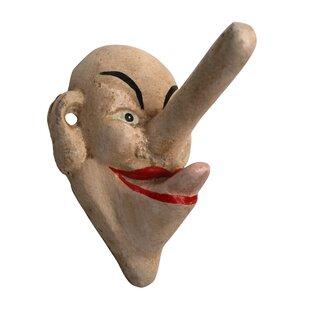 Liar Liar Big Nose Wall Hook By Design Toscano