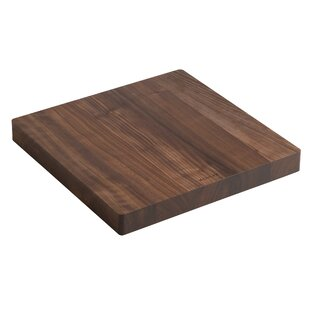 Ceramic Impressions Hardwood Cutting Board for Stages Kitchen Sinks By Kohler