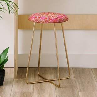 Lisa Argyropoulos Autumn Rapture Kaleido 25 Bar Stool East Urban Home
