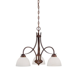Fleur De Lis Living Witney 3-Light Shaded Chandelier