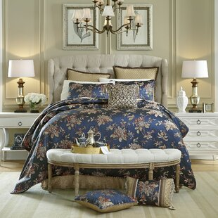 Croscill Home Fashions Calice 4 Piece Reversible Comforter Set