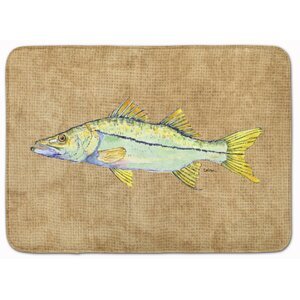 Alturas Snook Memory Foam Bath Rug