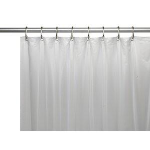 dark brown shower curtain. Wayfair Basics Vinyl Shower Curtain Liner Dark Brown