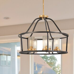 Alcott Hill Helmer 5-Light Drum Chandelier