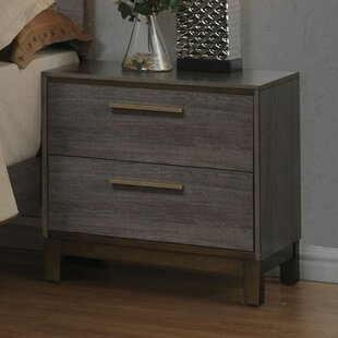 Bargain Laverock 2 Drawer Nightstand By Mercury Row