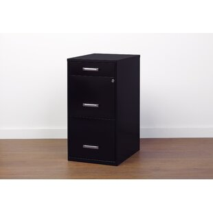 Jerry 3-Drawer Vertical Filing Cabinet by Rebrilliant Great Reviews