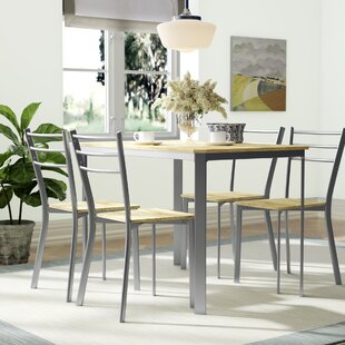 Athene Dining Table And 4 Chairs By Home Loft Concept