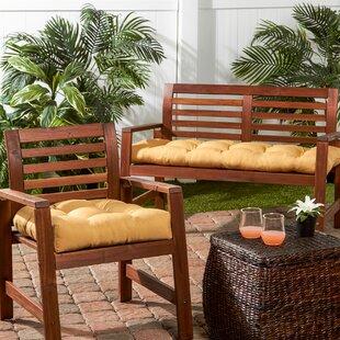 Greendale Home Fashions Indoor/Outdoor Sunbrella Bench Cushion