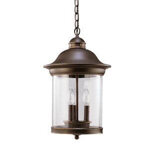 Brettany 3-Light Outdoor Pendant