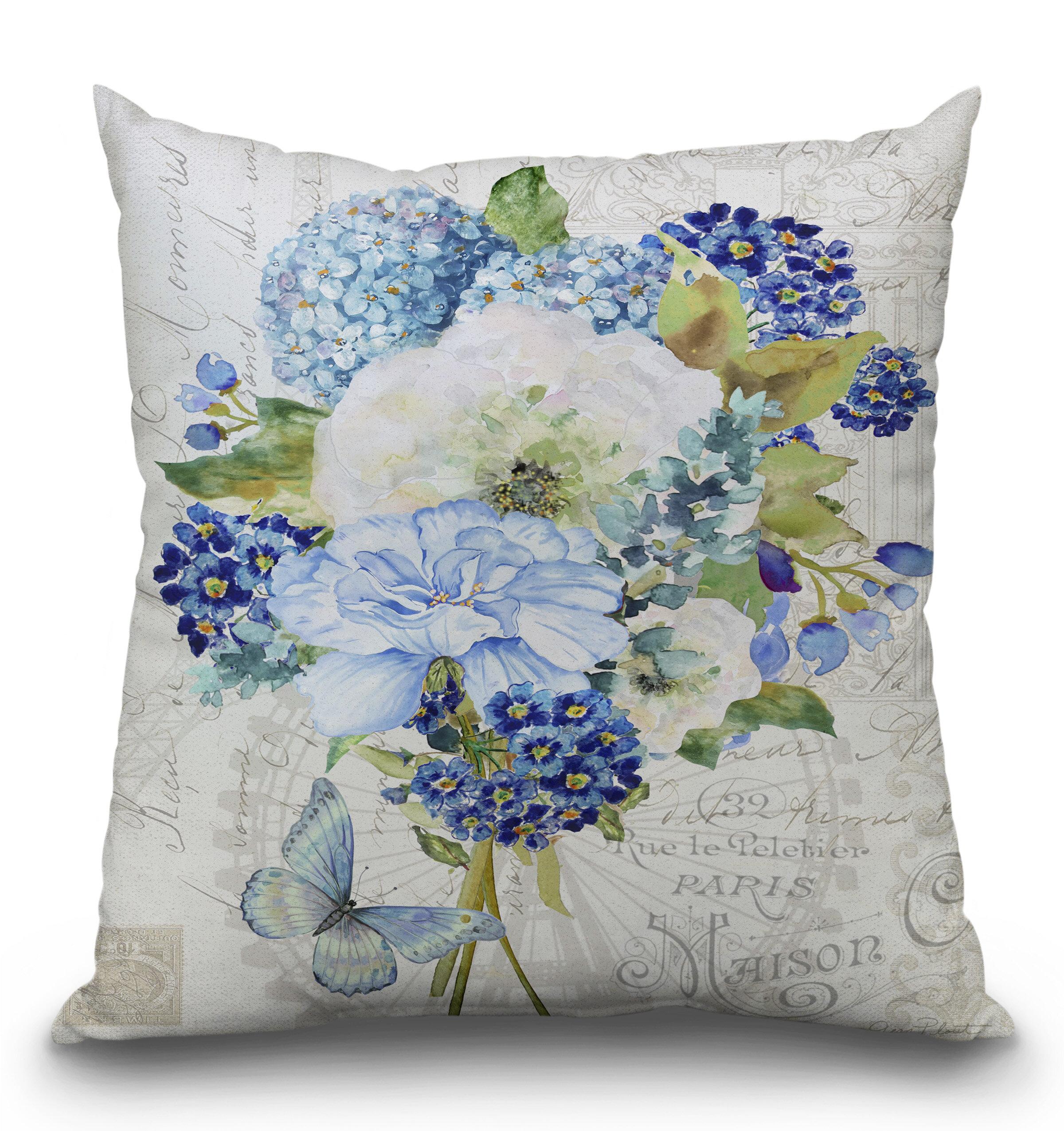 Ophelia Co Ludwig Bouquet Français C Throw Pillow Wayfair
