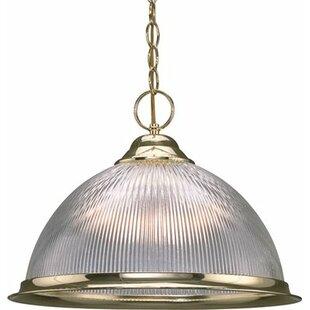 Glass dome pendant lighting wayfair glass dome 1 light bowl pendant aloadofball Gallery