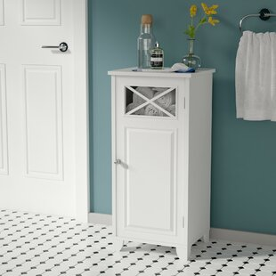 Roberts Floor Cabinet with 1 Door Accent Cabinet by Rosecliff Heights