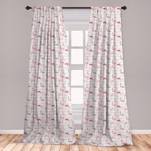 Mint And Coral Curtains Wayfair
