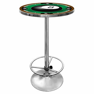 8-Ball Pub Table with Foot Rest Trademark Global