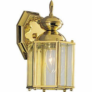 Triplehorn 1-Light Incandescent Wall Lantern By Alcott Hill