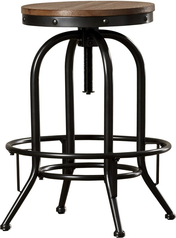 Glen Adjustable Bar Stool (Set of 2)  sc 1 st  Joss u0026 Main & Adjustable Bar Stools u0026 Counter Stools | Joss u0026 Main islam-shia.org