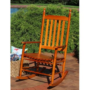 Cummins Wooden Rocking Chair (Set of 2)