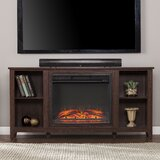 Elsine TV Stand for TVs up to 65 with Electric Fireplace Included by Charlton Home®