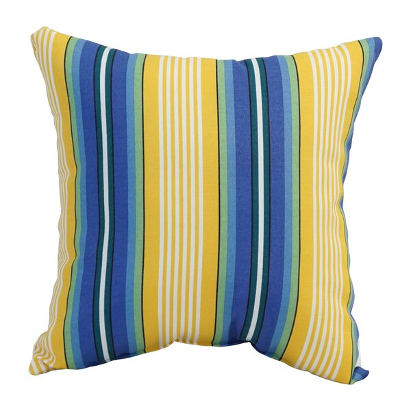 Bayou Breeze Belen Indoor Outdoor Striped Throw Pillow Wayfair