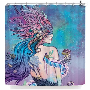Mat Miller The Last Mermaid Shower Curtain By East Urban Home