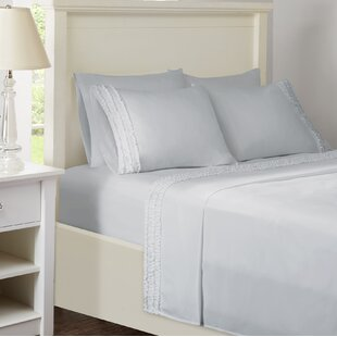 House of Hampton Elica Ruffled Sheet Set