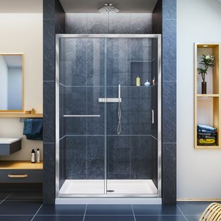 Frosted Shower & Bathtub Doors You\'ll Love