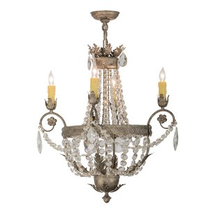 Meyda Tiffany Antonia 4-Light Empire Chandelier